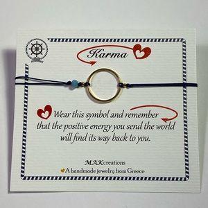 Good luck Karma Charm Bracelet